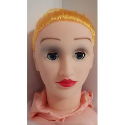 Кукла с пышной грудью блондинка