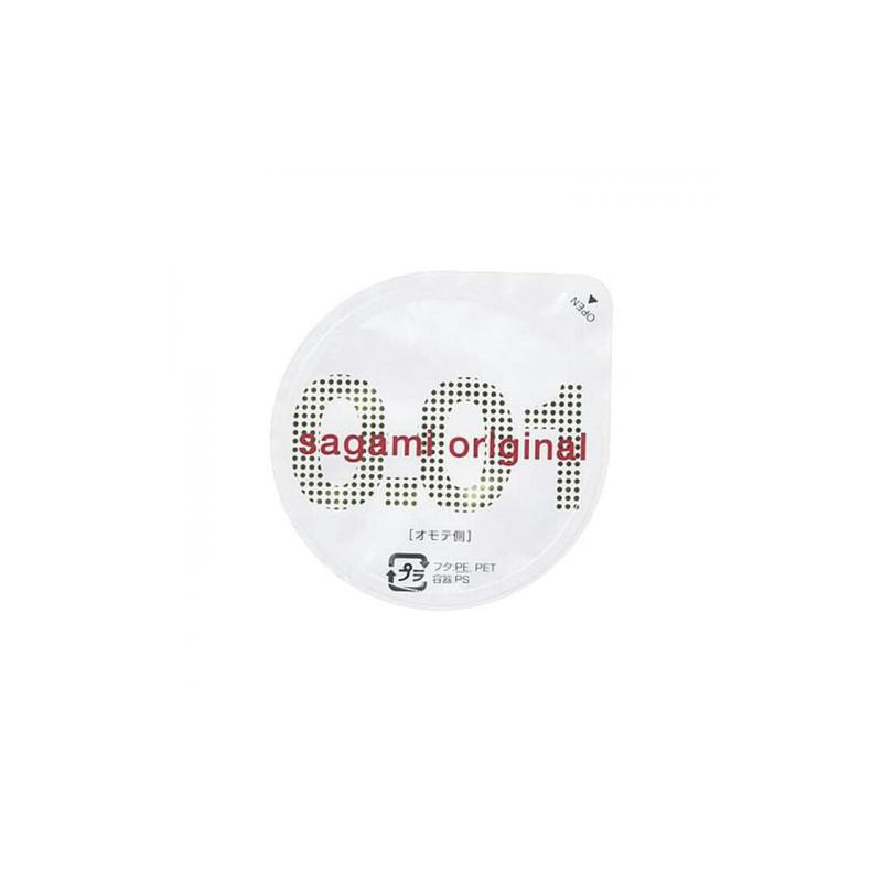Полиуретановые презервативы Sagami Original 0,01 1 шт