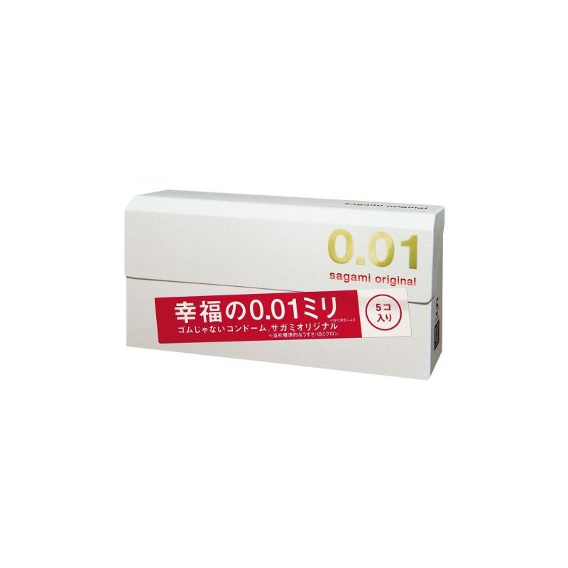 Полиуретановые презервативы Sagami Original 0,01 5 шт
