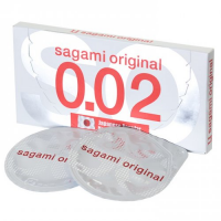 Полиуретановые презервативы Sagami Original 0,02 2 шт