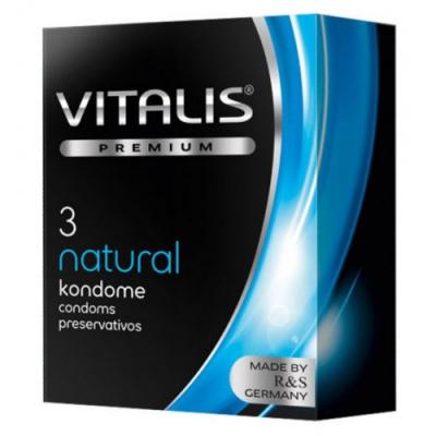 Презервативы Vitalis Premium №3 Natural классические