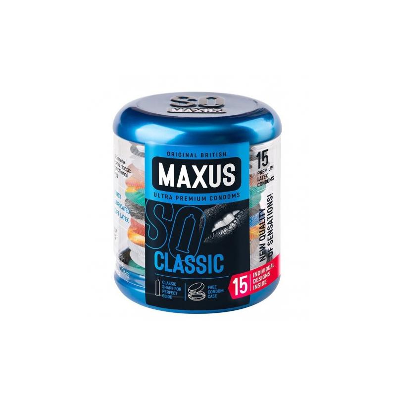 Презервативы Maxus №15 Classic в металлическом кейсе