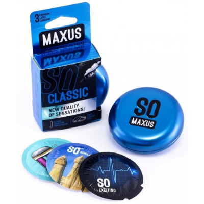 Презервативы Maxus №3 Classic классические