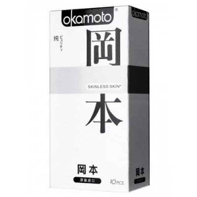 Презервативы Okamoto Skinless Skin Purity №10