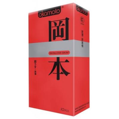 Презервативы Okamoto Skinless Skin Super Thin №10 ультратонкие