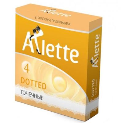 Презервативы Arlette №3 Dotted Точечные