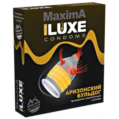 Презерватив Luxe Maxima Аризонский Бульдог 1 шт