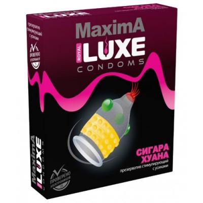 Презерватив Luxe Maxima Сигара Хуана 1 шт