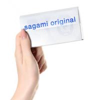 Полиуретановые презервативы Sagami Original 0,02 Quick 6 шт