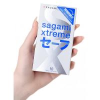Презервативы с продлевающим эффектом Sagami Xtreme Ultrasafe 10 шт