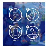 Презервативы Durex №12 Dual Extase Emoji Doodle рельефные с анестетиком