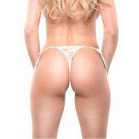 Вибро-трусики FFS Date Night Remote Control Panties белые