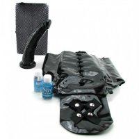 Страпон с корсетом размер плюс FF Plus Size Crotchless Corset Strap-On
