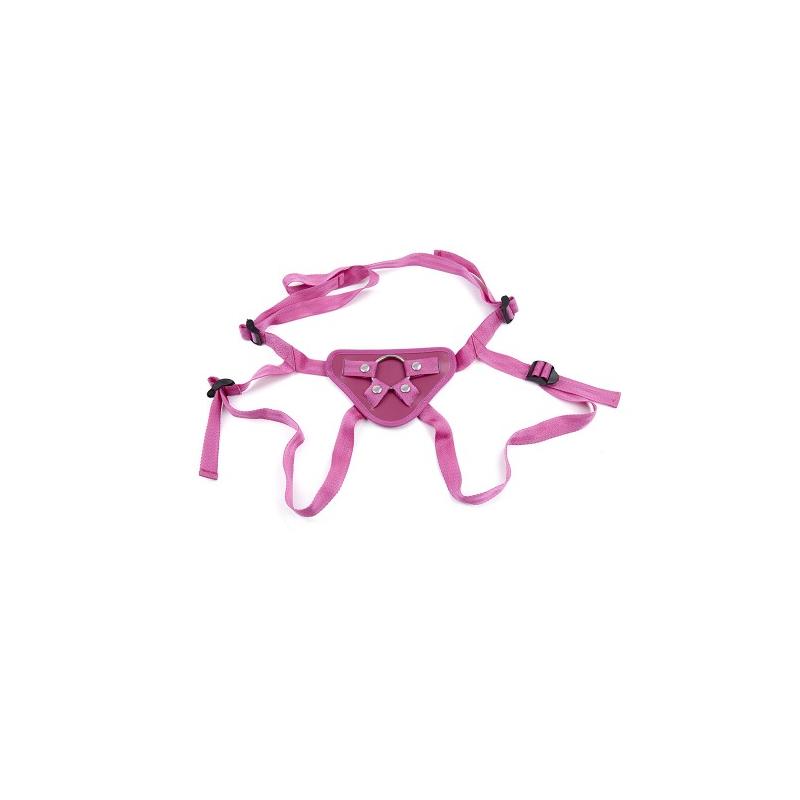 Ремень для страпона розовый