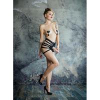 Стильные женские трусики для страпона No Mercy Roughly, размер M/L