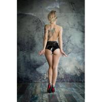 Стильные женские трусики для страпона No Mercy Faster, S/M