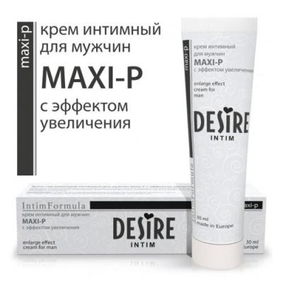 Крем для увеличения полового члена Desire Intim Maxi-P 30 мл