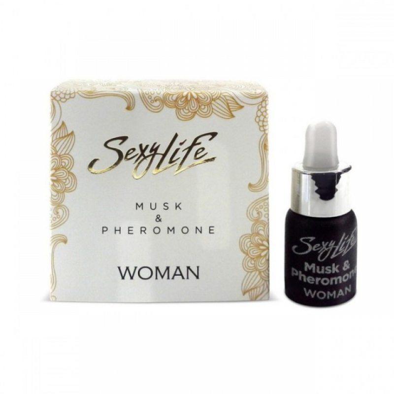 Духи концентрированные Sexy Life Musk Pheromone woman для женщин 5 мл