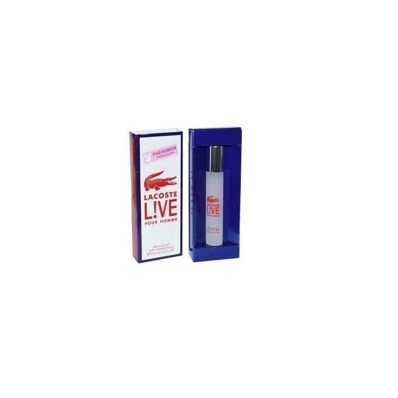 Мужские духи с феромонами (масляные) lacoste live 10 мл