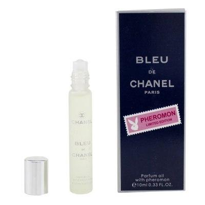 Мужские духи масляные с феромонами Bleu de Chanel 10 мл
