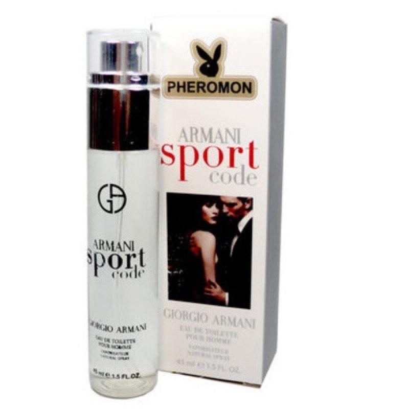 Мужские духи с феромонами Giorgio Armani Code Sport 45 мл