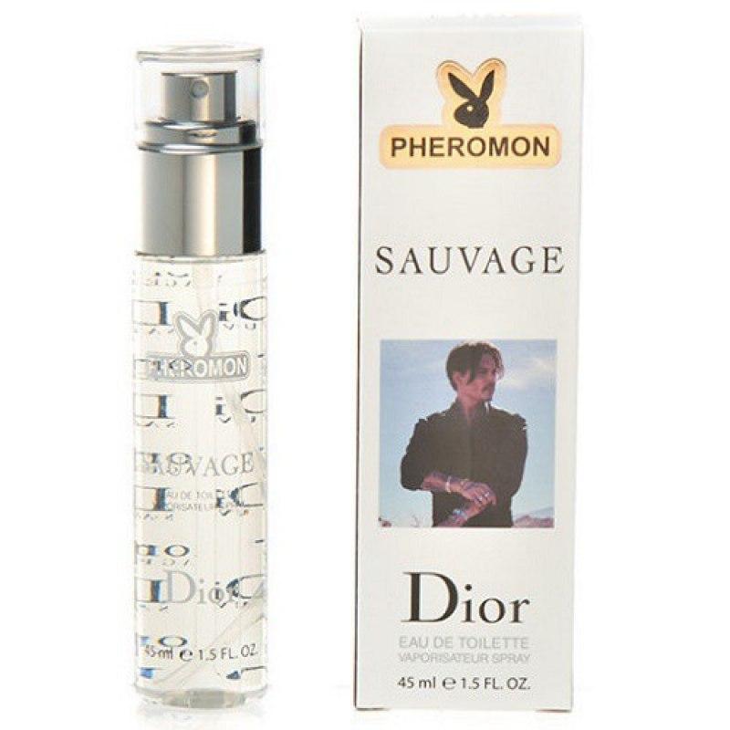 Мужские духи с феромонами Christian Dior Sauvage 45 мл