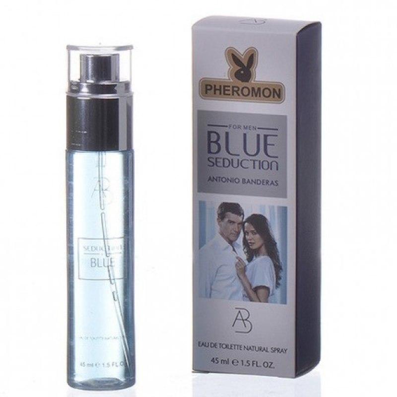 Духи с феромонами Antonio Banderas Blue Seduction мужские 45 мл