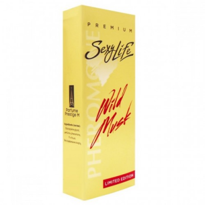 Духи Wild Musk № 6 Aound Vanille унисекс с мускусом и феромонами 10 мл