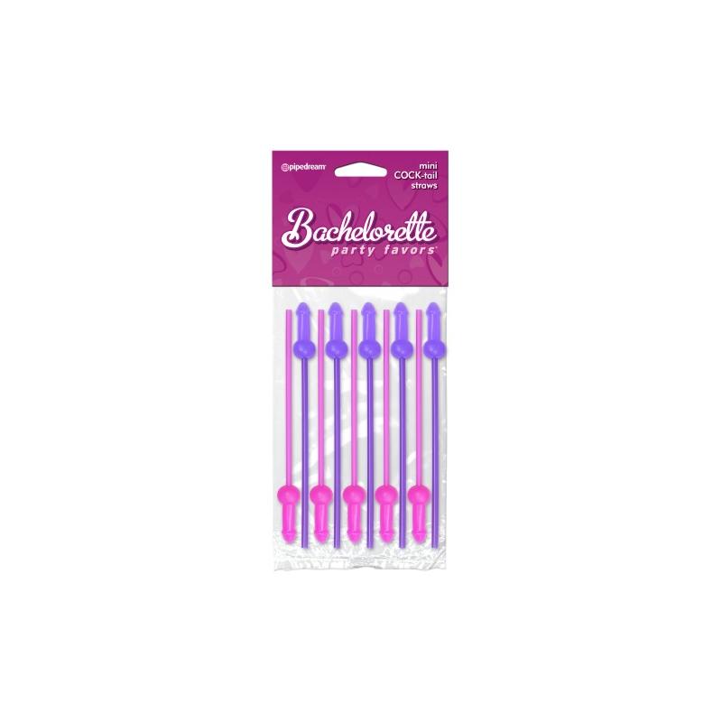 Трубочки для коктейлей Bachelorette Party Favors Mini Сook-tail Straws
