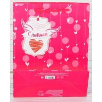 Подарочный пакет С Любовь размер ML