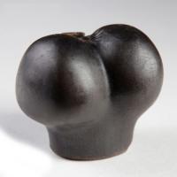 Фигурное мыло шоколадного цвета Цветок любви 190 грамм