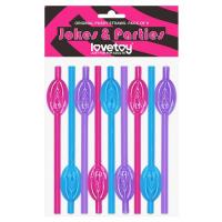 Трубочки разноцветные Original Pussy Straws – Pack of 9
