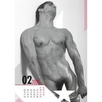 Календарь пин-ап Real Cocks 2020 г.
