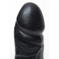 Мыло-сувенир штучки-дрючки Пенис на присоске, черный
