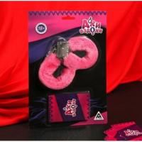 Эротический набор Ахи-вздохи: наручники, фанты