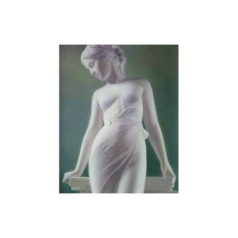 Картина Обнаженная в вуали
