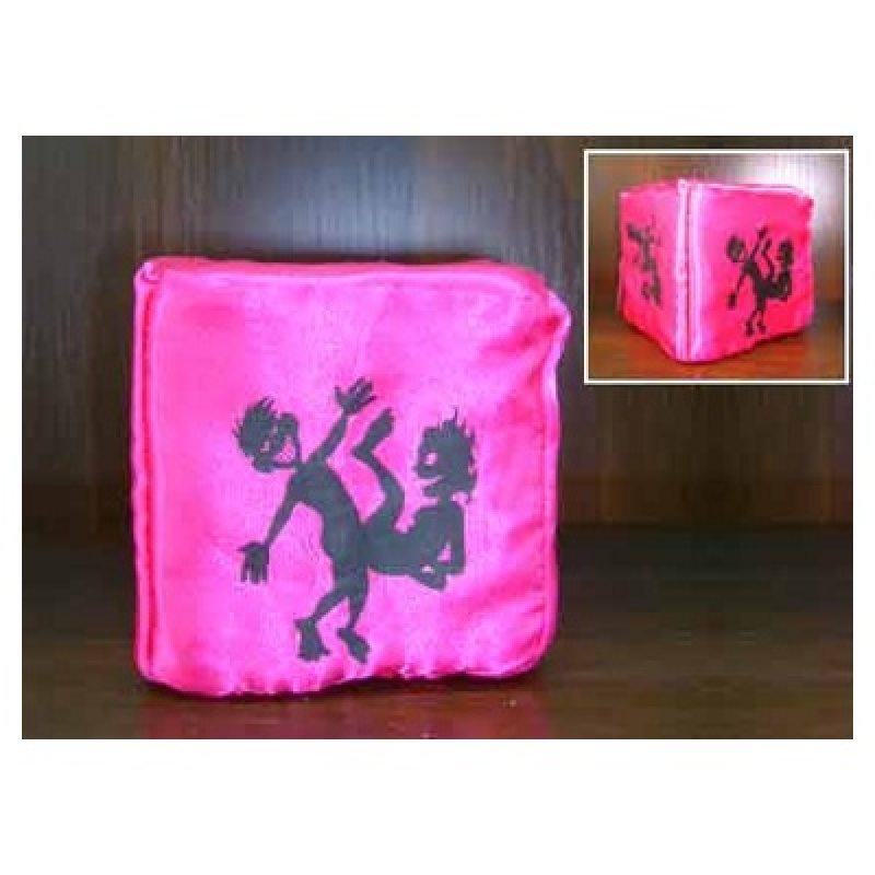 Кубик декоративный розовый МонАми