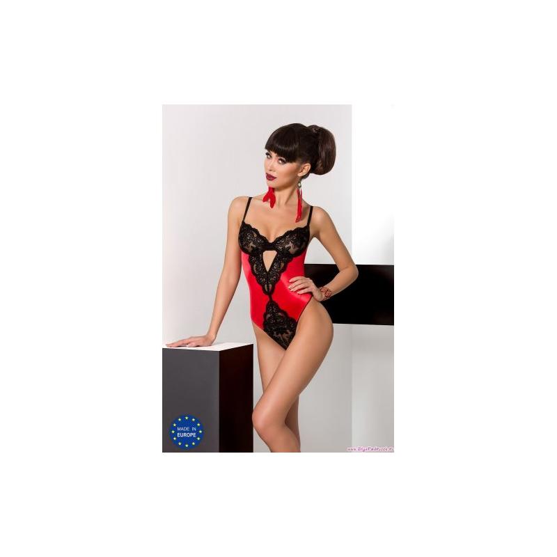 Женское боди Polina red L/XL