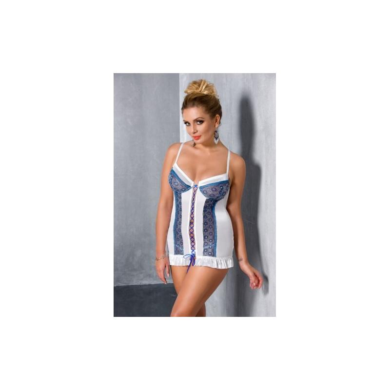 Чувственная сорочка Eleni 4XL/5XL