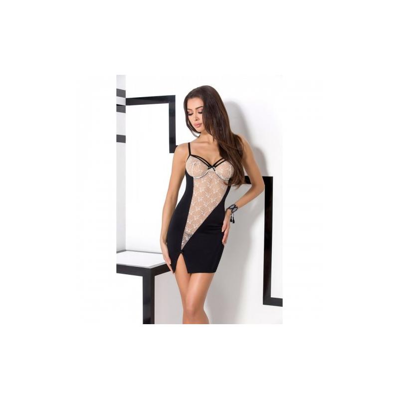 Эротическая сорочка Nea  black L/XL
