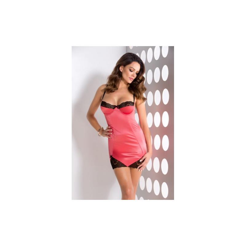 Красивая розовая сорочка Rosalie S/M