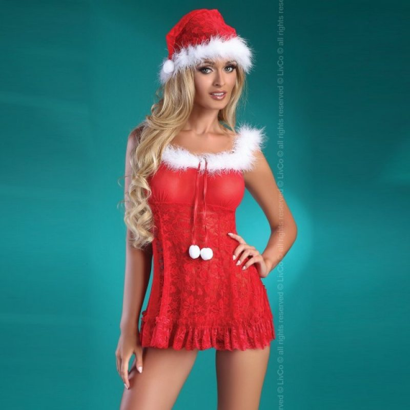 Бэби долл и трусики Christmas Bell L/XL