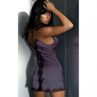 Сексуальная сатиновая сорочка LUNA M