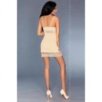 Роскошная кремовая сорочка Lourdes L/XL