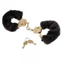 Наручники FF Gold Deluxe Furry Cuffs