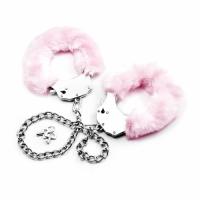 Поножи Fetish Pleasure Fluffy Leg Cuffs розовые
