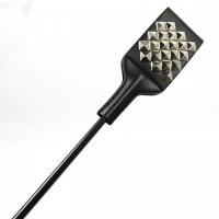 Стек черный декорированный заклёпками