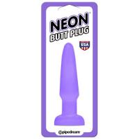 Анальная пробка Neon Butt Plug
