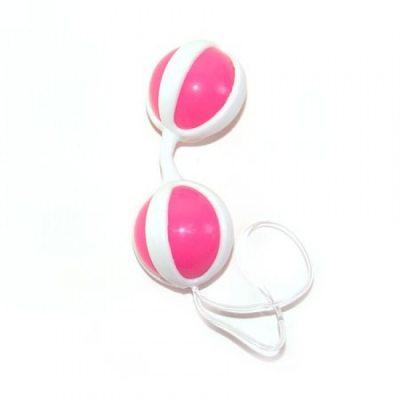 Вагинальные шарики Be Mine Balls розовые