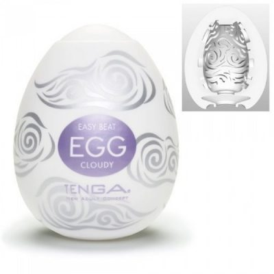 Мастурбатор яйцо Tenga Egg Cloudy